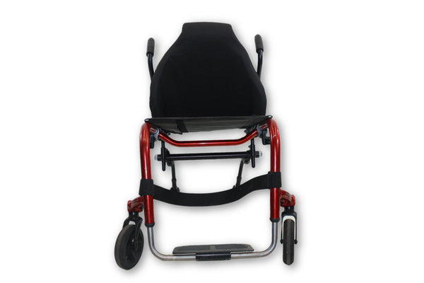 "TiLite Aero Z Rigid Frame Manual Wheelchair | 265lbs. Limit | 17""x18"" Seat - Mobility Equipment for Less"