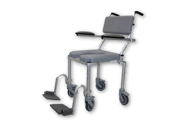 Nuprodx multiCHAIR 4000 Roll-In Shower Chair Commode | ADA Approved - Mobility Equipment for Less