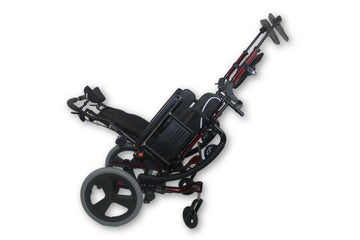 "Quickie IRIS Tilt-In-Space Manual Wheelchair | 18"" x 20"" 