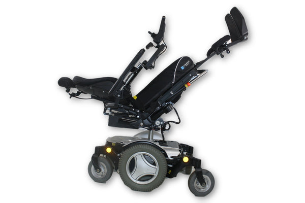 "2013 Permobil M300 Electric Power Wheelchair | Tilt, Recline & Legs | 17"" x 19"" - Power Chairs Test"
