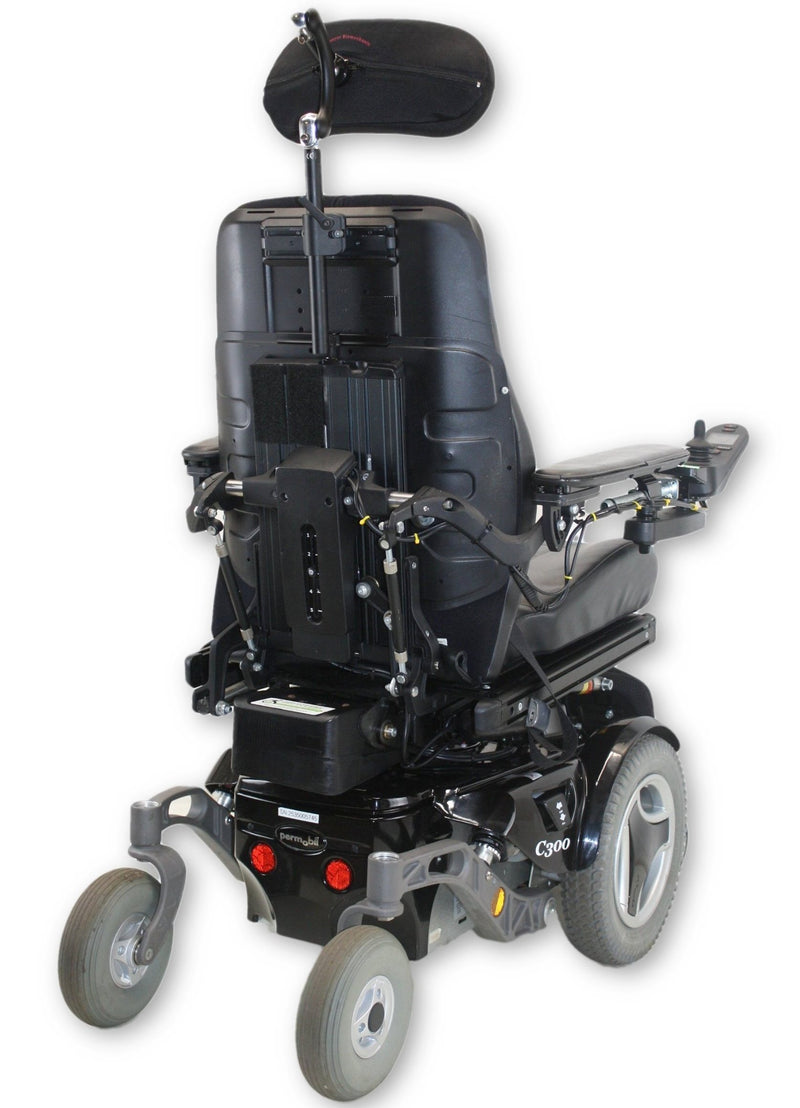 "Permobil C300 Power Chair | Seat Elevate, Tilt, Recline, Power Legs | 20""x19"" Seat - Power Chairs Test"