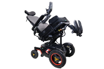 "Permobil F3 Corpus Electric Wheelchair | Tilt | Recline | Power Legs | 19"" x 20"" Seat"