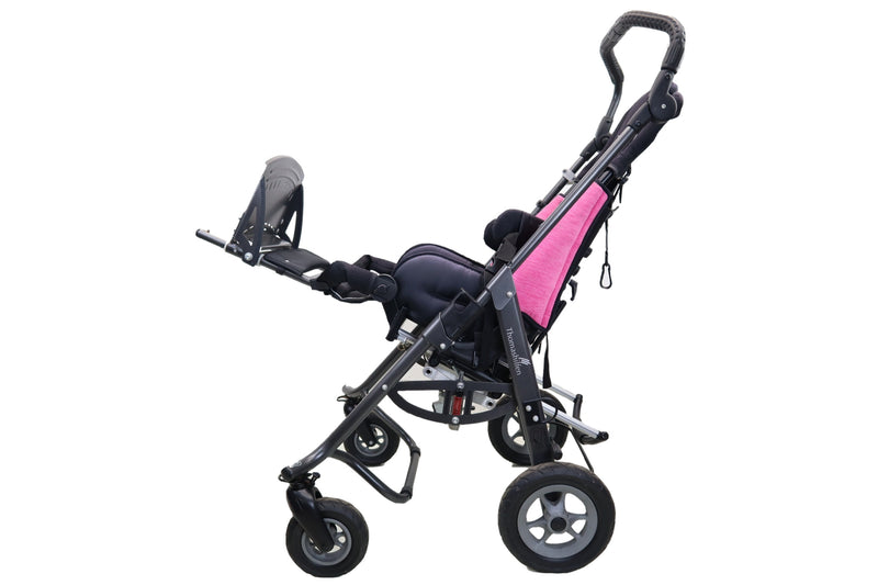 Thomashilfen EASyS Advantage Size 2 Stroller | Tilt-in-Space | Transit Loops | Thigh Supports | Lateral Supports - Power Chairs Test