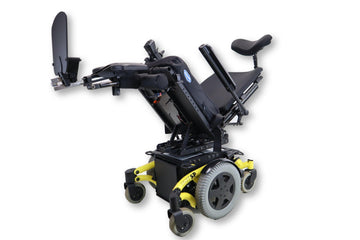 "Invacare TDX SP Electric Wheelchair Chair | Seat Elevate | Tilt | Recline | Leg Elevate | 18"" x 19 Seat"