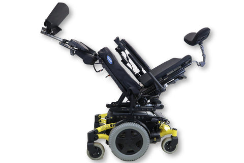 Invacare TDX SP Electric Wheelchair | Seat Elevate | Tilt | Recline | Leg Elevate | 18