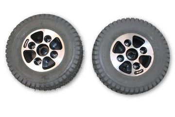 Hoveround PRIMO GRANDE (9 x 3.50-4) Pneumatic Air Filled Tires & Rim
