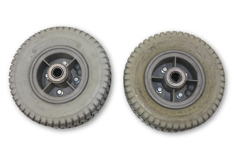 Ranger Solo PRIMO GRANDE (9 x 3.50-4) Air Filled Hoveround Wheels - Power Chairs Test