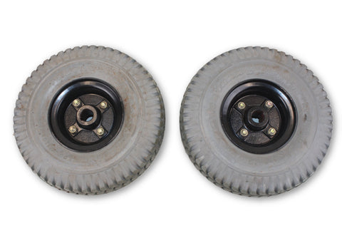 Pronto M41 Power Trax Flat Free Wheels | 3.00-4 (10x3) Quickie Compatible