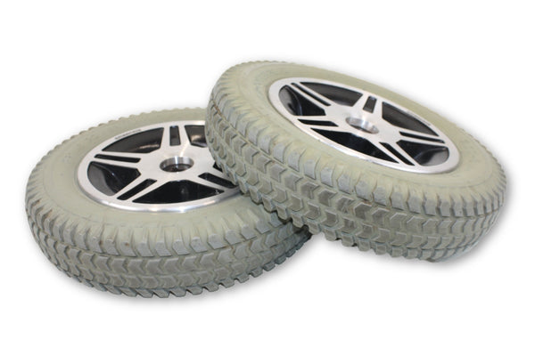 "Primo PowerTrax Flat Free (14""x3"") 3.00-8  Replacement Wheels 