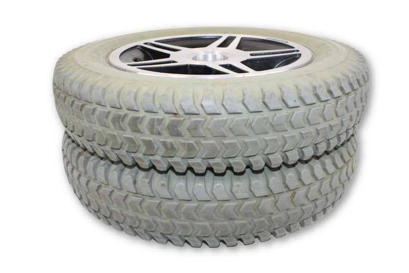 "Jazzy 600 PowerTrax Flat Free (14""x3"") 3.00-8  Replacement Wheels 