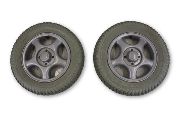 "Invacare Pronto M91 Air Filled Wheels | 3.00-8 (14""x3"") 