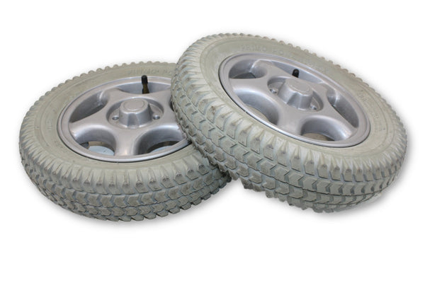 "PR1MO POWERTRAX 3.00-8 (14""x3"") Air Filled Replacement Tires & Rim"