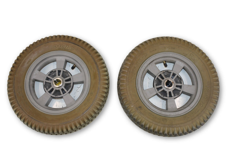 "Pride Jazzy Duro Pneumatic (14""x3"") 3.00-8  Replacement Wheels 