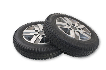 "Quantum Power Chair Flat-Free Primo Powertrax Drive Wheels | 14"" x 3"" (3.00-8)"