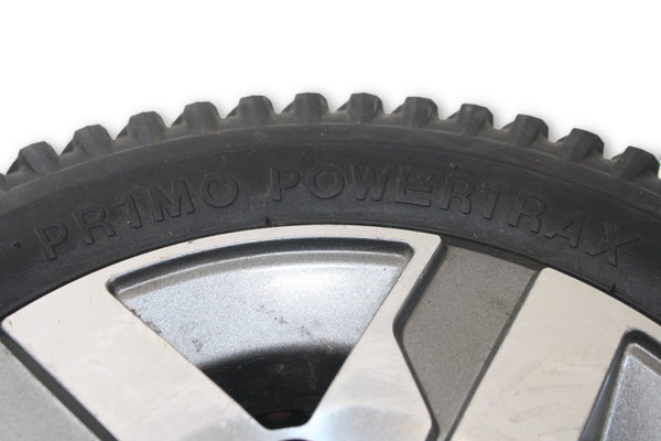 "Quantum Power Chair Flat-Free Primo Powertrax Drive Wheels | 14"" x 3"" (3.00-8) - Power Chairs Test"