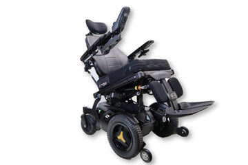 "Permobil F3 Electric Wheelchair | Tilt, Recline, & Power Legs | 18""x19"" Seat 