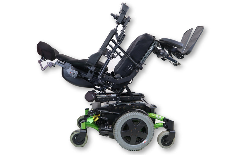 "Invacare TDX SP Electric Wheelchair | Seat Elevate | Recline | Tilt | Leg Elevate | 18"" x 18 Seat - Power Chairs Test"