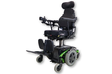 "Invacare TDX SP Electric Wheelchair Chair | Seat Elevate | Recline | Tilt | Leg Elevate | 18"" x 18 Seat"