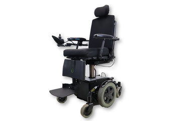 "Invacare TDX SP Electric Wheelchair | Seat Elevate | Recline | Power Legs | Tilt | 17"" x 20"" Seat"