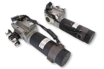Quickie P-220 Replacement Drive Motors | 499281 | 499280 | 679-037-118 | 679-038-119 | E679 | Left & Right Motor & Gearbox Assembly