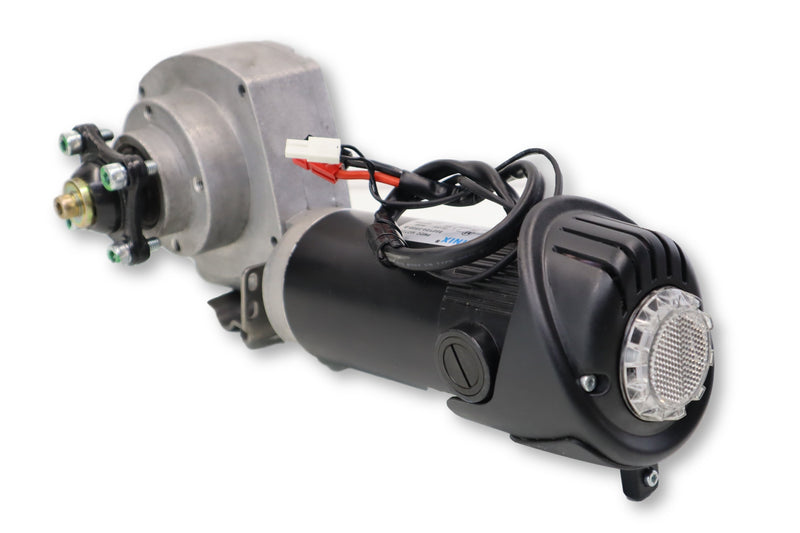 Motor Assembly For Permobil M300 | Left & Right Drive Motors | 313934 | 313935 | 80ZY24-350D-B | 82-20160800111 | 82-20160800110 | LINIX Replacement Motor & Gearbox Assembly - Power Chairs Test