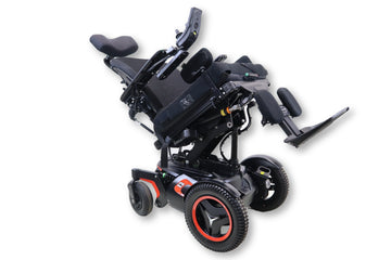 "Permobil F3 Corpus Electric Wheelchair | Powered Tilt, Recline & Leg Elevate | 19"" x 20"" Seat"