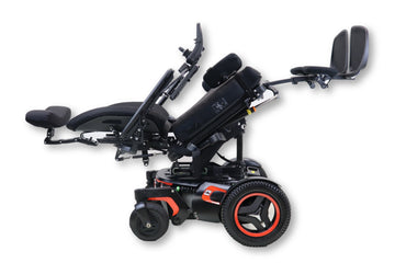 "Permobil F3 Electric Wheelchair | Only 43 Miles! | Powered Tilt, Recline & Leg Elevate | 19"" x 20"" Seat"