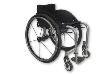 Invacare Crossfire Manual Wheelchair | Aluminum Open Frame T6 Design
