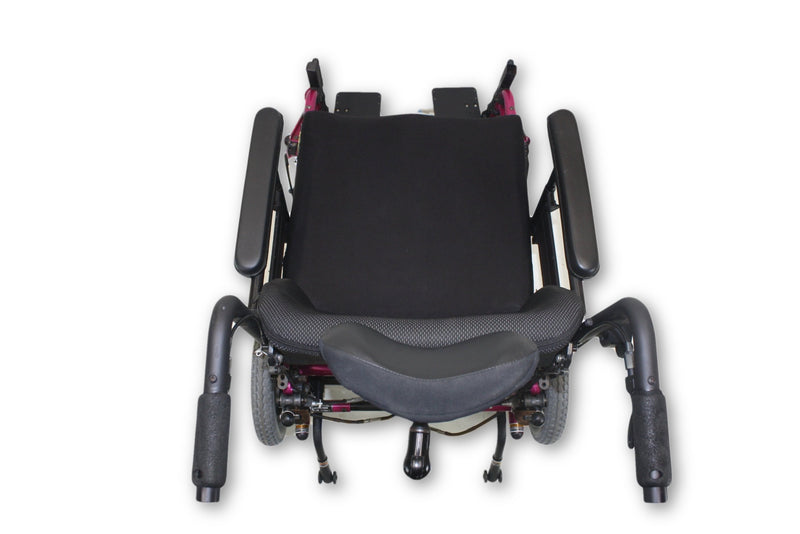 "Invacare Solara Tilt-In-Space Manual Transport Pink Wheelchair | 20""x22"" Seat - Power Chairs Test"
