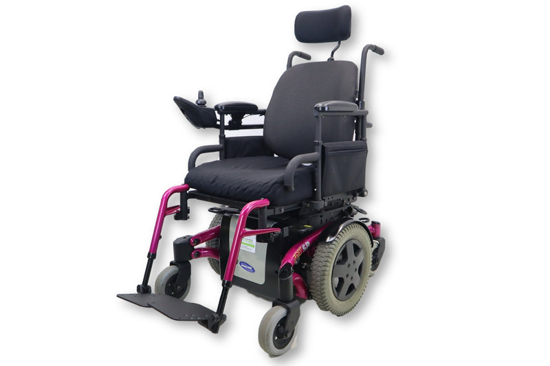 "Invacare TDX SP Electric Wheelchair | Tilting Function | Swing Away Legrest | 17"" x 20"" Seat - Power Chairs Test"
