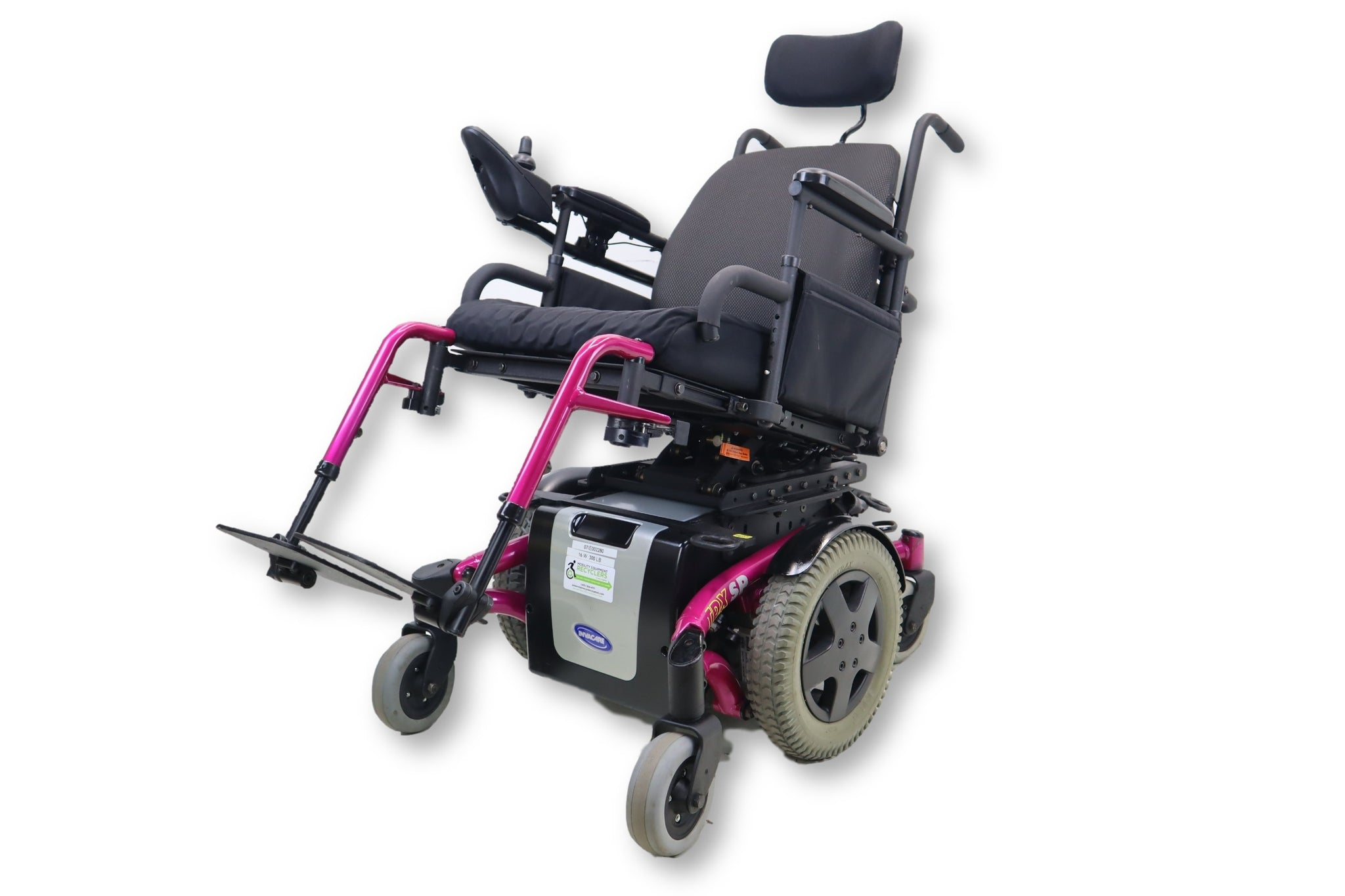 Invacare TDX SP Electric Wheelchair | Tilting Function | Swing Away Legrest | 17