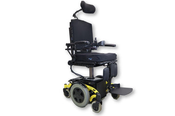 "Invacare TDX SP Electric Wheelchair | Seat Elevate | Tilt | Recline | Leg Elevate | 18"" x 19 Seat"