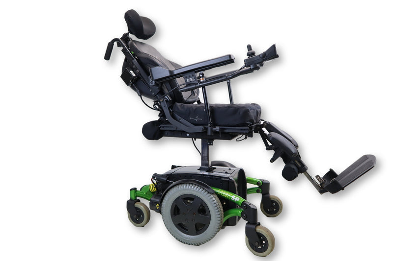 "Invacare TDX SP Electric Power Chair | Seat Elevate, Tilt, Recline & Power Legs | 17"" x 16"" Seat 
