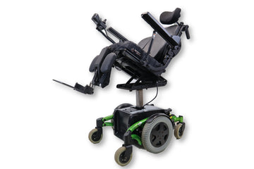"Invacare TDX SP Electric Power Chair | Tilt | Recline | Power Legs | Seat Elevate | 17"" x 16"" Seat 