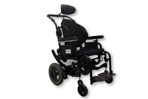 Quickie Iris Tilt-In-Space Manual Transport Wheelchair By Sunrise Medical