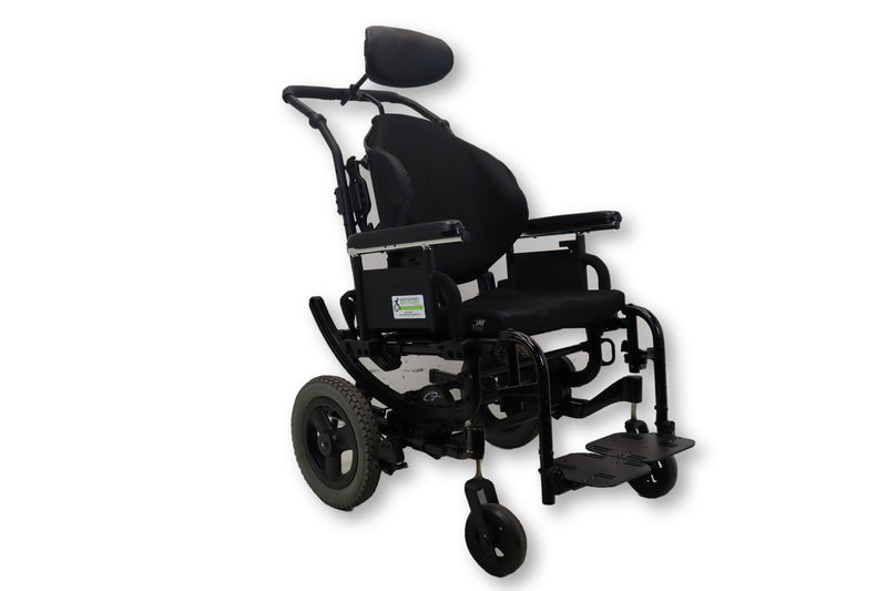 Quickie Iris Tilt-In-Space Manual Transport Wheelchair By Sunrise Medical - Power Chairs Test