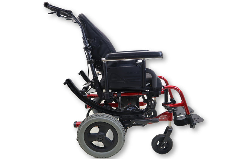 "Quickie IRIS Tilt-In-Space Manual Wheelchair | 17"" x 16"" Seat 