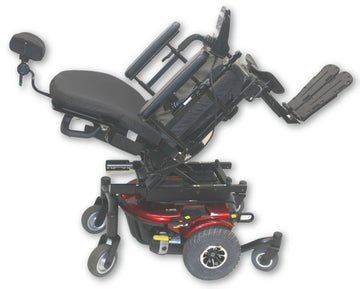 "Pride Jazzy J6 Compact Power Chair | Power Tilt | 18"" x 16"" Seat"