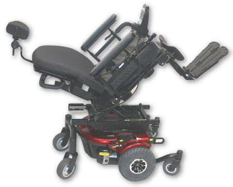 Pride Jazzy J6 Compact Power Chair | Power Tilt | 18