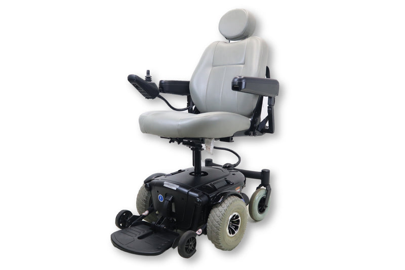 "Jazzy 1103 Ultra Electric Powered Wheelchair | Seat Elevate | 20"" x 19"" Seat - Power Chairs Test"