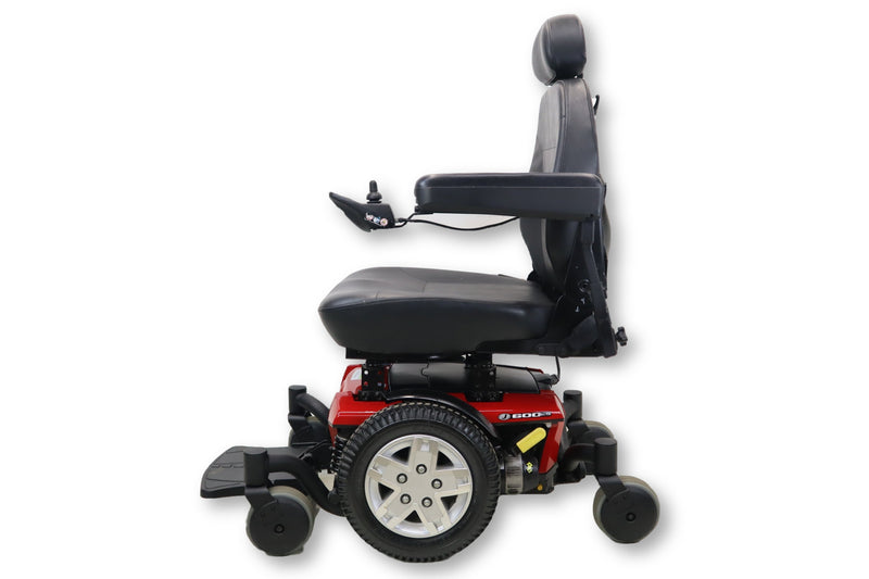 "Jazzy 600 ES Electric Powered Wheelchair | 21"" x 21"" Seat 