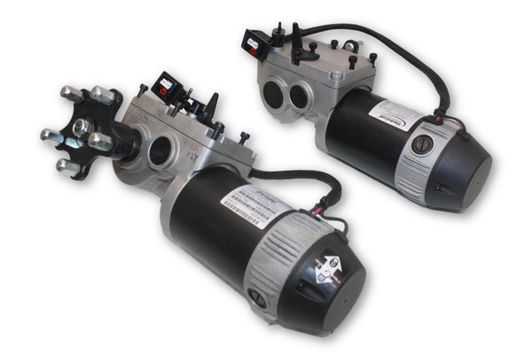 Jazzy 600 ES Left/Right ElectroCraft Motors | DRVASMB7120036 | DRVASMB7120037