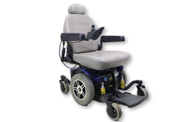 "Jazzy 614 Electric Powered Wheelchair | 21"" x 20"" Seat 