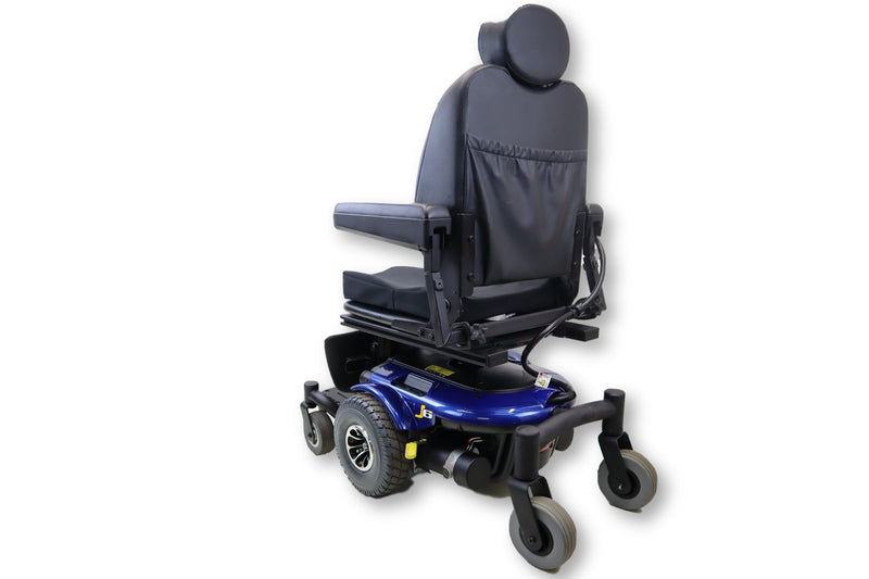 Jazzy J6 Power Chair With Elevating Seat By Pride Mobility Products Corp. - Power Chairs Test