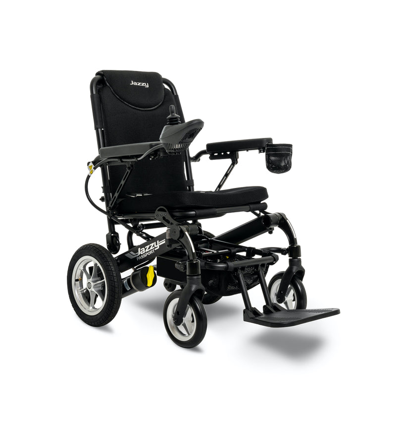 "New Pride Mobility Jazzy Passport Power Chair | 18"" x 16"" Seat"