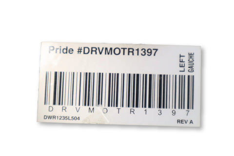 Motor Assembly for Jazzy Select Electric Wheelchairs | DRVMOTR1397 | DRVMOTR1396 | DRVASMB1870 | DRVASMB1869