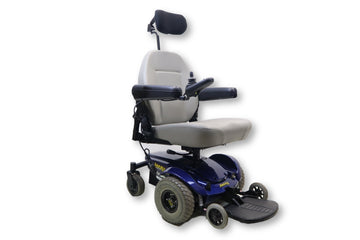 "Jazzy Select Electric Wheelchair | 19"" x 19"" Seat 