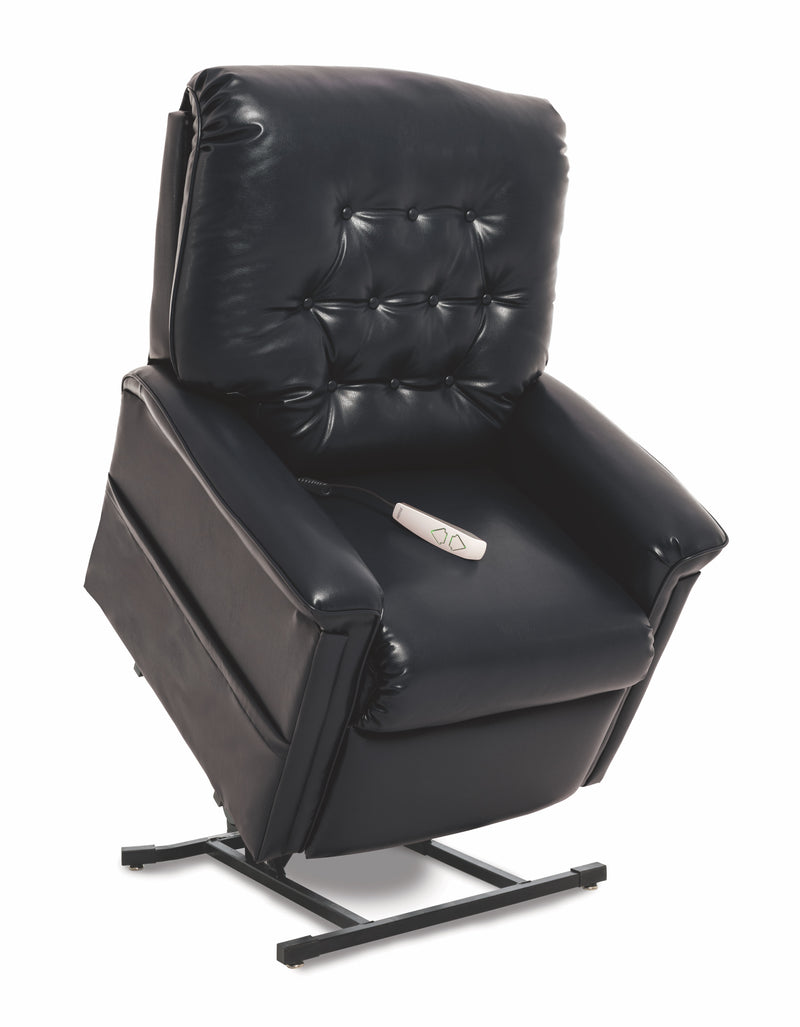 Black New Pride Mobility Heritage Collection LC-358M (Medium) Lift Chair Recliner