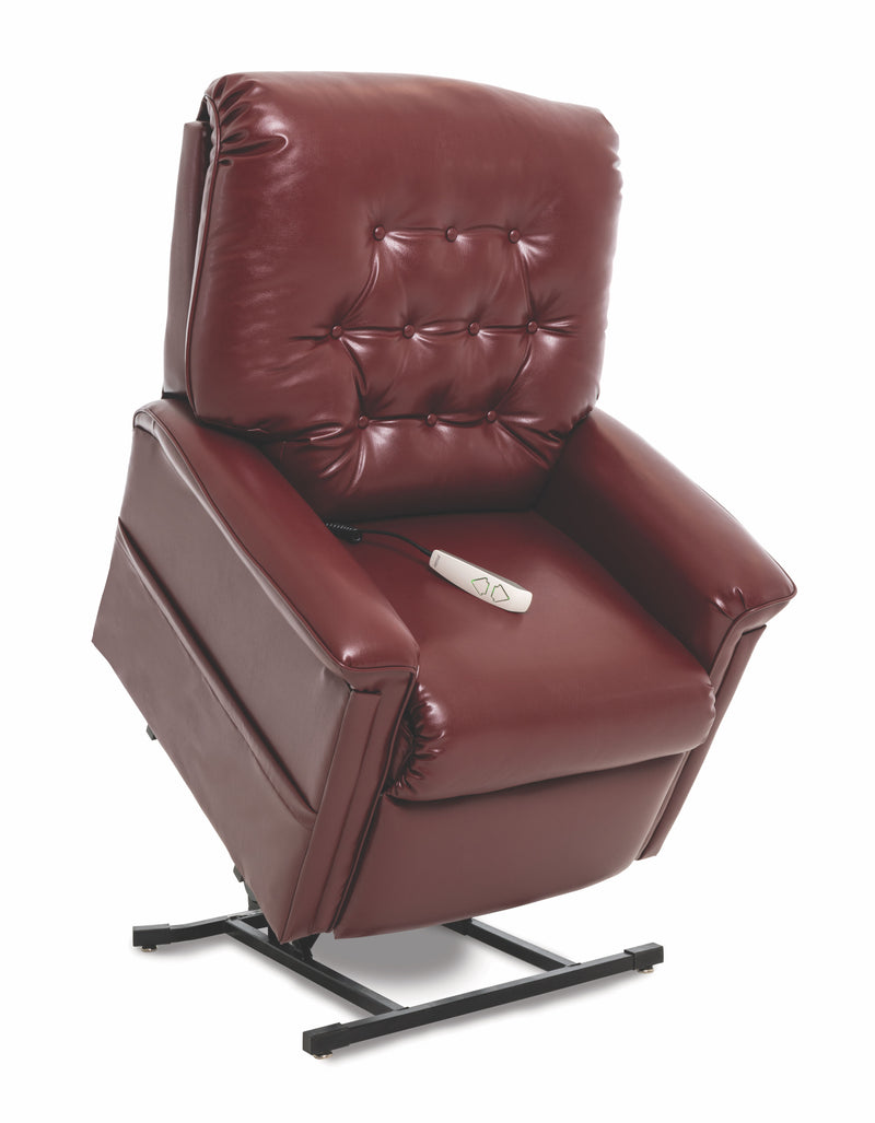 Burgundy New Pride Mobility Heritage Collection LC-358M (Medium) Lift Chair Recliner