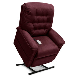 Black Cherry New Pride Mobility Heritage Collection LC-358M (Medium) Lift Chair Recliner